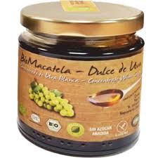 dulce de uva blanca ecologica bodega ehd
