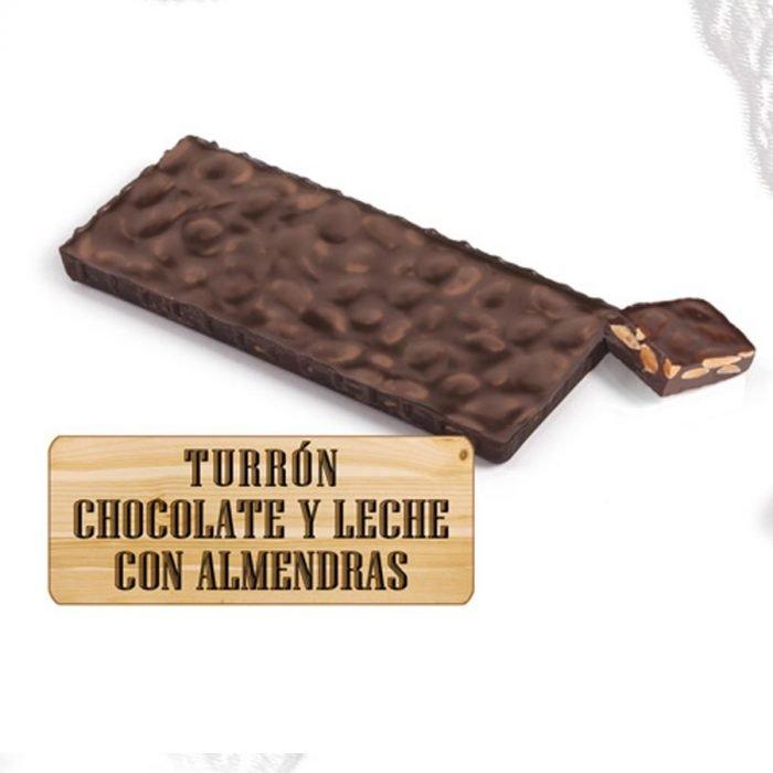 nutxes chocolate leche almendras ecologico 200gr
