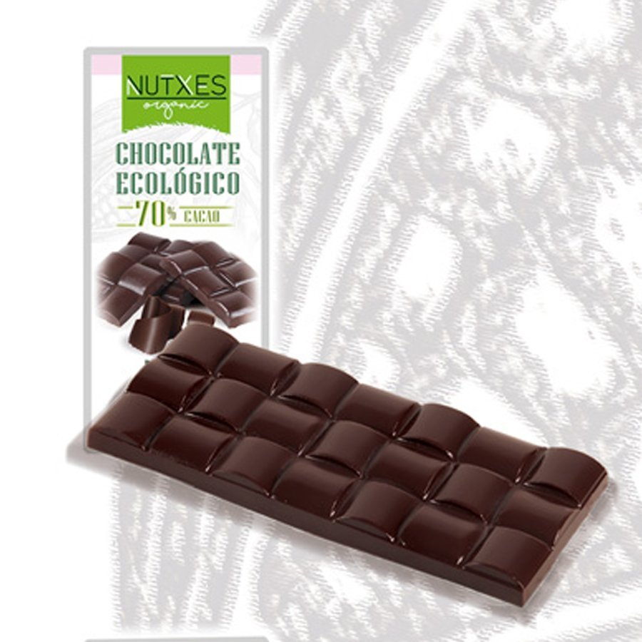 nutxes chocolate negro 85 ecologico 100gr