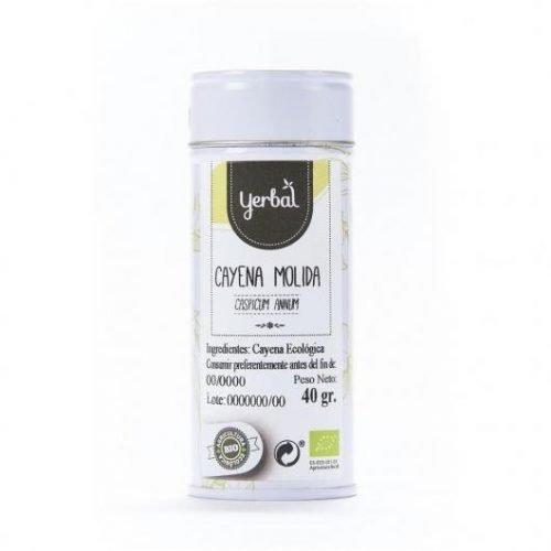 cayena bio molida yerbal