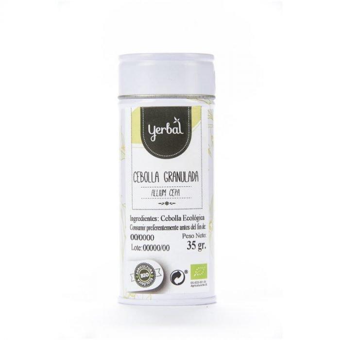 cebolla ecologica granulada yerbal lata 35g