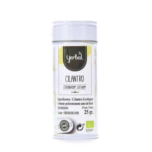 cilantro bio yerbal lata 25g