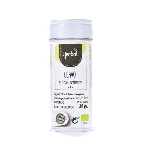 clavo bio yerbal lata 30g