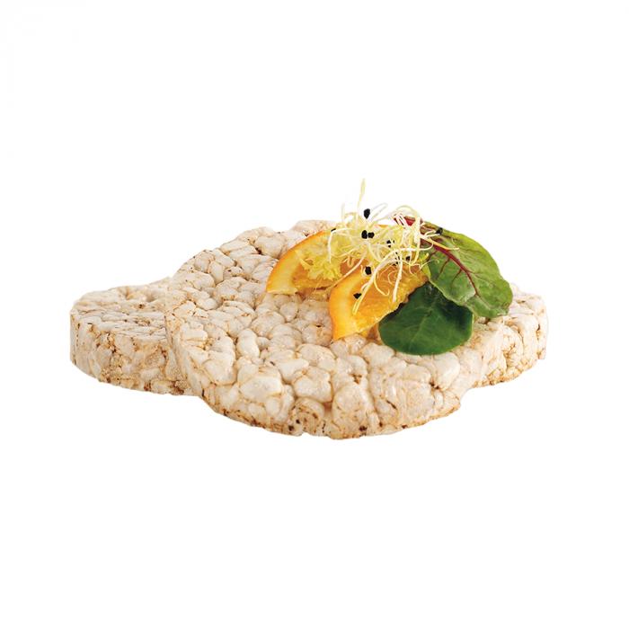 Tortitas ECO de arroz con curcuma y pimienta sin gluten sueltas
