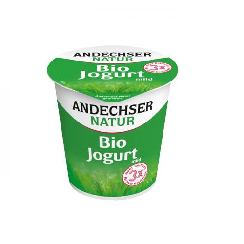 Yogur ecologico semidesnatado 3,8% andechser natur 150g