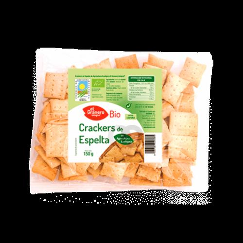 crackers de espelta y sesamo ecologicos 150 gr