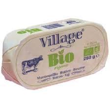 mantequilla sin sal ecologica village 250g
