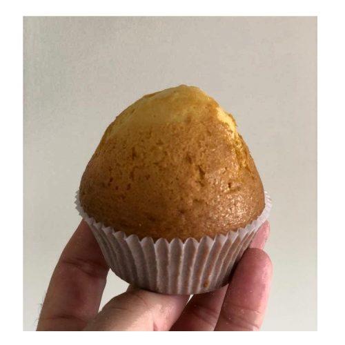 Magdalenas de panaderia con maltitiol y sin azucar