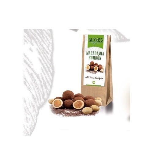 Macadamias bio recubiertas de chocolate Nutxes