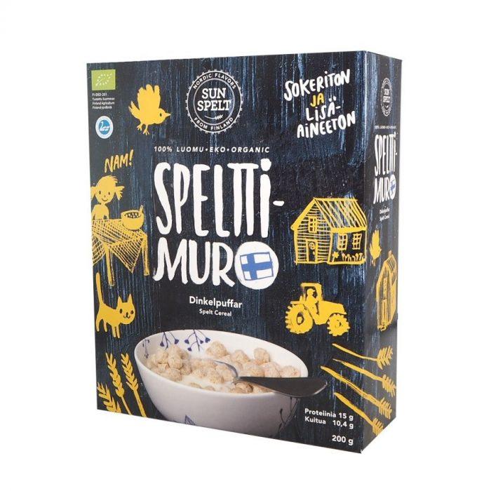 Cereales de espelta bio en bolitas Sun Spelt
