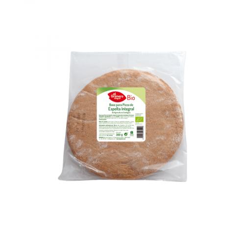 bases pizza trigo espelta bio El Granero 2ud 300g