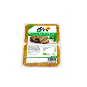Filetes de Tofu Ecologico con Ajo Silvestre 160g 2ud Taifun