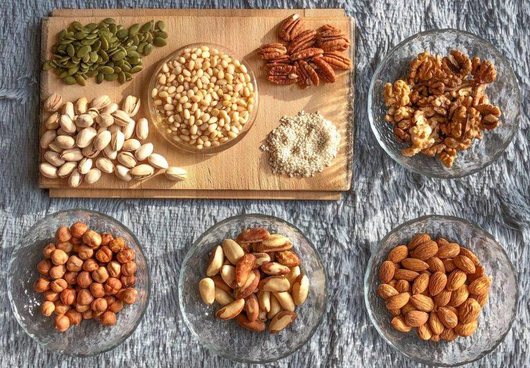 semillas bio granos y frutos secos