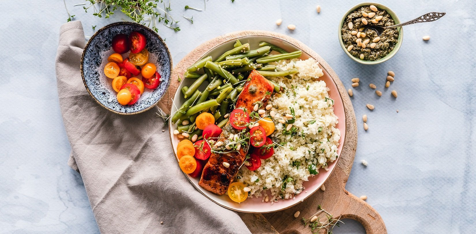 quinoa con vegetales bio