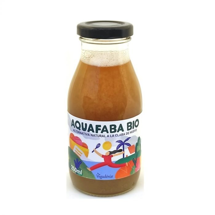 Alternativa Vegana Bio a la clara de Huevo 250ml Aquafaba