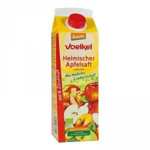 Zumo de manzana ecologica demeter Voelkel 1L