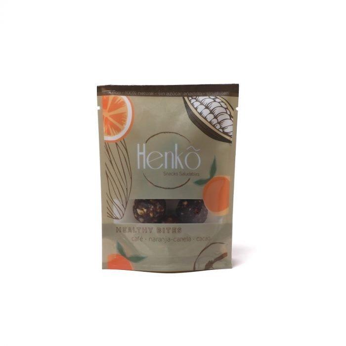 Healthy Bites snack bio frutos secos y datiles Henko