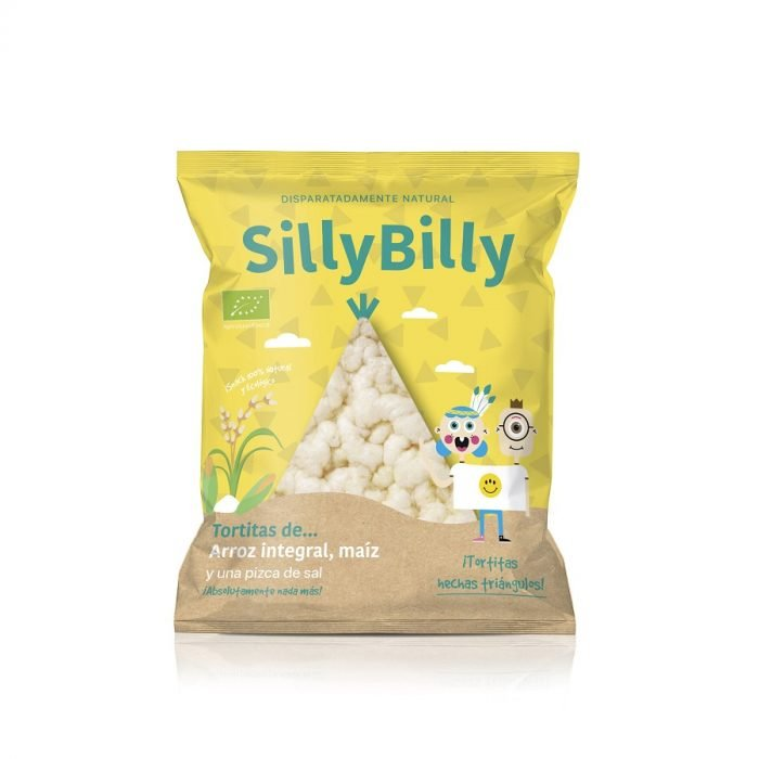 Triángulos Bio Arroz y Maíz_30g_SillyBilly